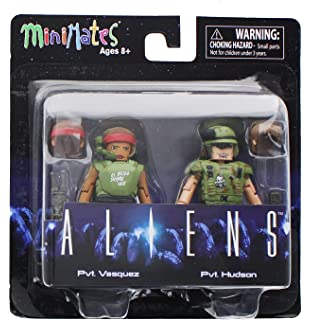 Amazon.com: Aliens Minimates Series 2 Jumpsuit Ripley & Newt ...