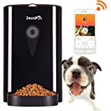 JEMPET Petwant SmartFeeder Automatic Pet Feeder, Pet Food Dispenser for Dogs and Cats, Controlled by IPhone, Android or Other Smart Devices …