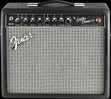Fender Super Champ X2 · Amplificador guitarra eléctrica