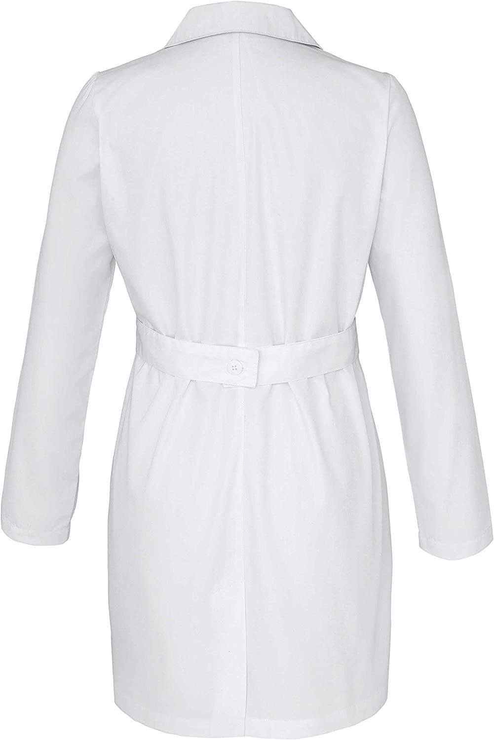 """Adar Universal Lab Coats for Women - Belted 33"""" Lab Coat: Clothing"""