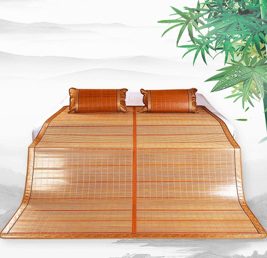 Bambus-Schlafmatten Rutschfeste, atmungsaktive Bambusmatten können doppelseitig gestapelt werden