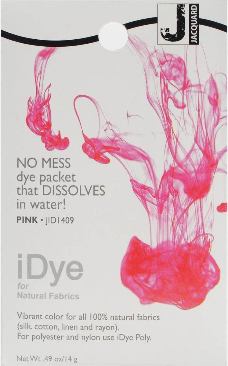 Jacquard iDye Fabric Dye Natural Fibres  14g Scarlet