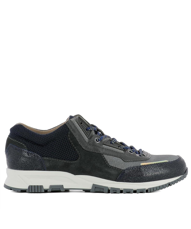 Lanvin メンズ FMSKDRNUTOMEA151424 ブラック ファブリック 運動靴 B07BCYR5SF