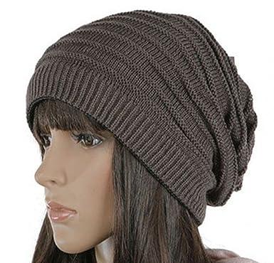 tricoter un bonnet long tombant