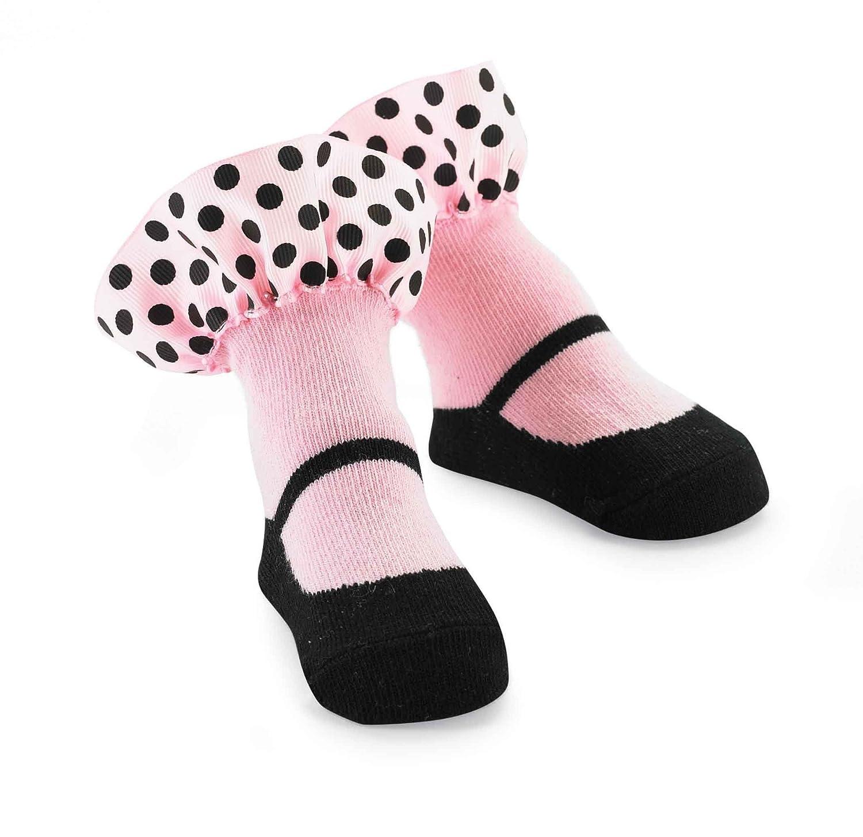 Mud Pie Baby-Girls Newborn Ruffle Socks