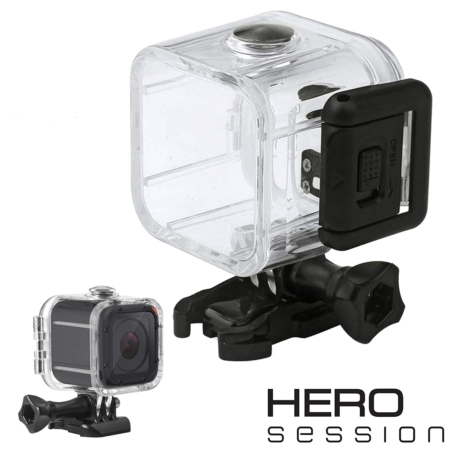 RAXPY - Carcasa Impermeable para GoPro Session (Resistente ...