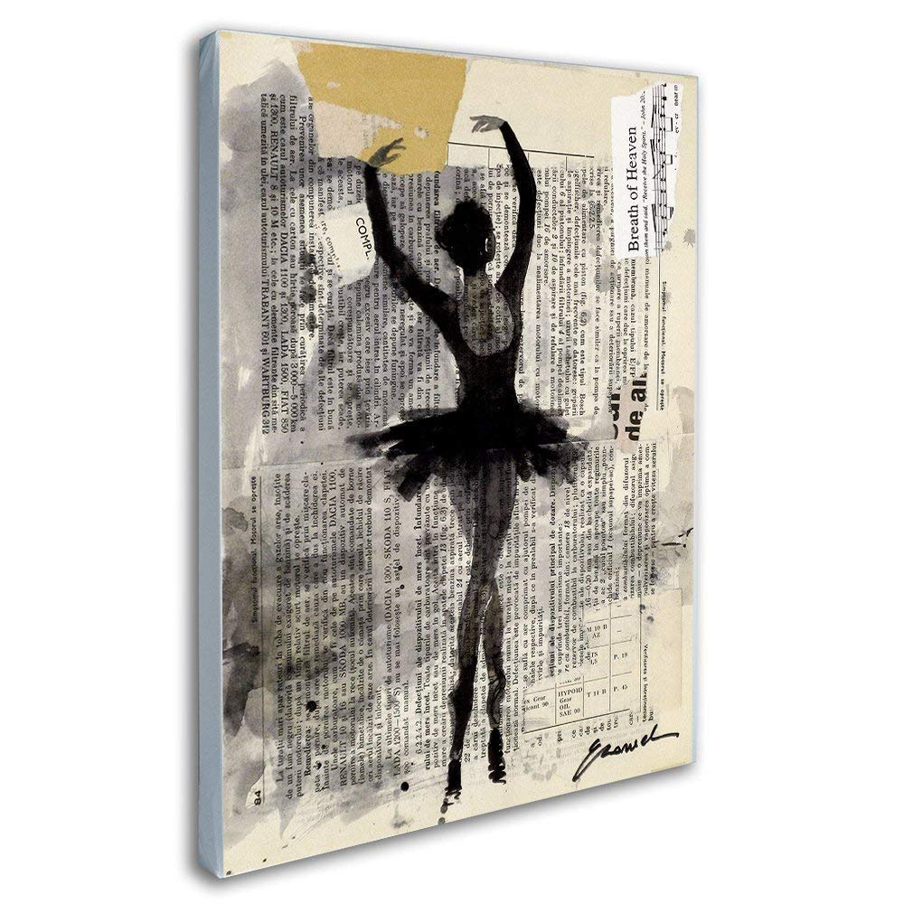 Angel 12 Different Acrylic Magnet Print of Original Painting by Hahonin Ballet