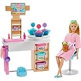 Barbie Wellness Spa de Luxo com Massinha, Mattel