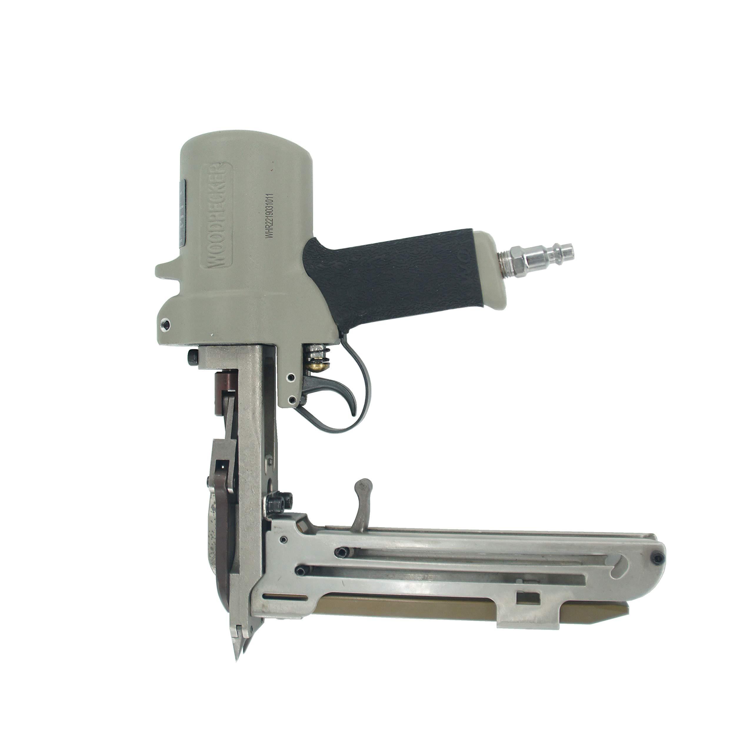 Woodpecker HR-22 Hog Ring Plier 15 guage 3/4-Inch Air Pneumatic Long Magazine Hog Ring Plier D-Ring Gun Hog Ringer Gun