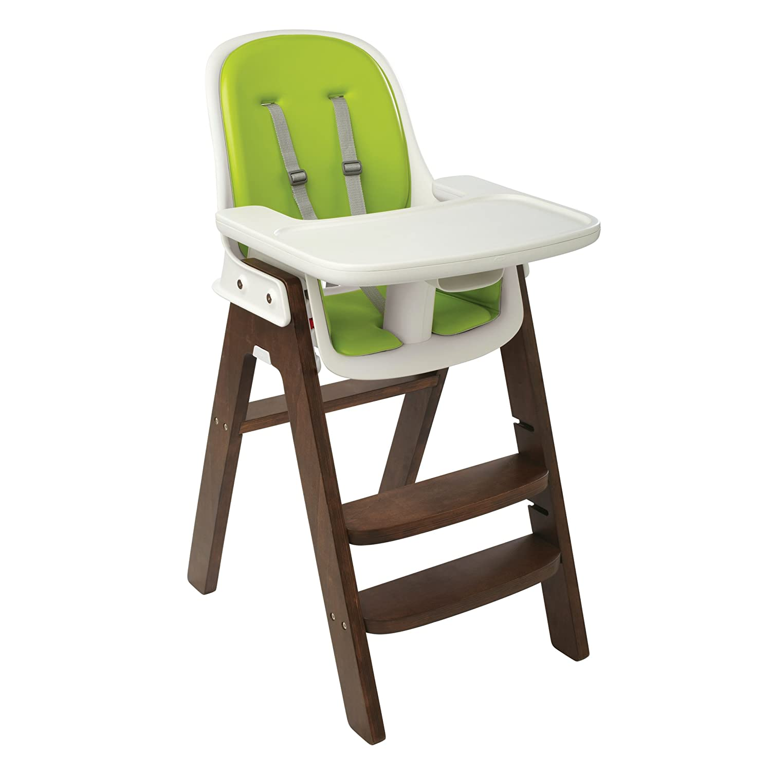 Amazon OXO Tot Sprout High Chair Green Walnut Childrens Highchairs Baby