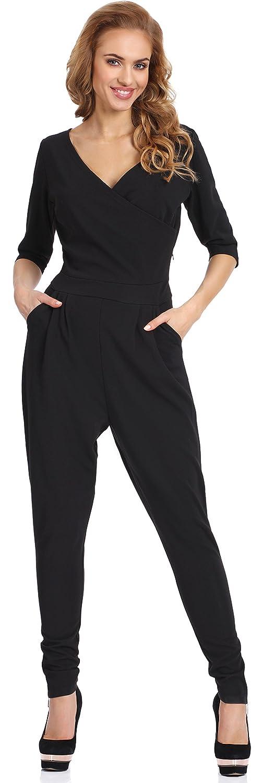 Merry Style Damen Bodysuit Kostüm Hosenanzug Jumpsuit K01