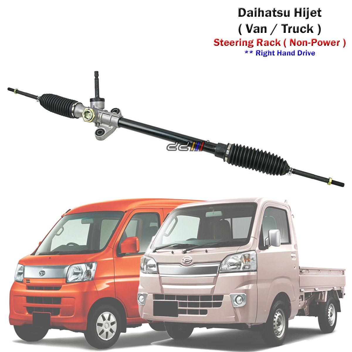 Amazon.com: Steering Rack Gear For Daihatsu Hi-Jet Hijet Van Truck 2005-17  45500-BZ030: Automotive
