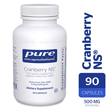 Pure Encapsulations – Cranberry NS – Hypoallergenic Supplement to Support Urinary Tract Health* – 90 Capsules