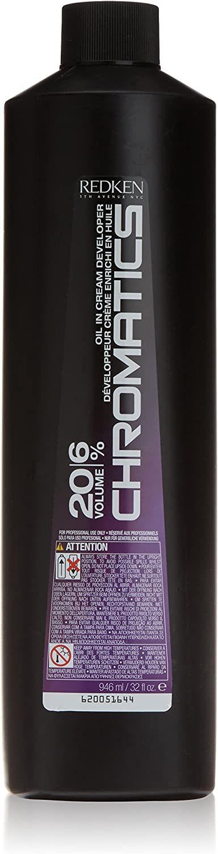 Redken Chromatics Developer 20 Volume 6% - Cuidado capilar, 946 ml
