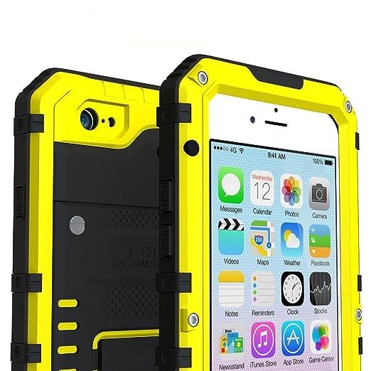 19 opinioni per I3C Cover iPhone 5/5s/SE Antiurto Resistenti Alluminio Gorilla Glass Case