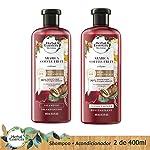 Herbal Essences Pack Herbal Essences Bíorenew Arabica Coffee 400 Ml + Acondicionador 400 Ml, Pack of 1