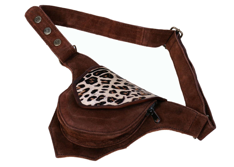 Travel Bag Waist Pack Fanny Pack Genuine Leather Waist Bag Cell Phone Bag