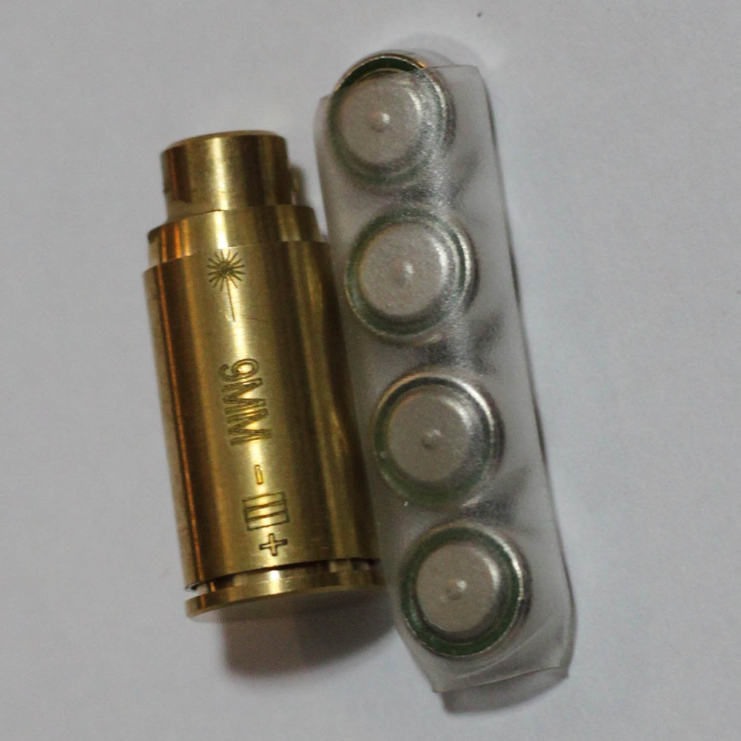 MAYMOC .9MM Bore Sight Red Dot in-Chamber Cartridge