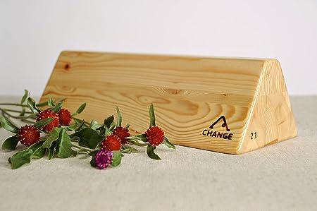Bloque de madera para yoga: Amazon.es: Hogar