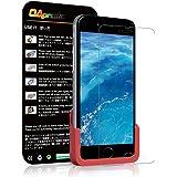 OAproda iPhone 6s plus / 6 plus 保護フィルム 強化ガラス 貼り付け簡単 AGC 素材採用 5.5 inch