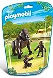 Playmobil 6639 - Le Zoo -Gorille Avec Bébés