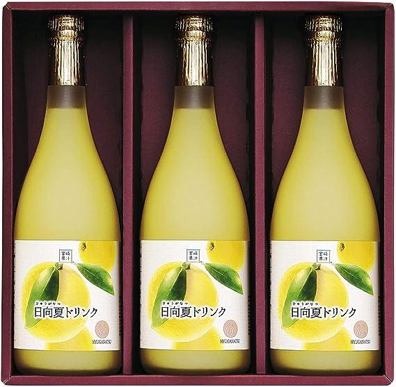 宮崎果汁 日向夏ドリンク 720ml×3本セット 720ml×3 日向夏ジュース 日向夏 柑橘 宮崎