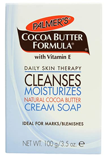 2d43ceeaa6195d Image Unavailable. Image not available for. Color: Palmer's Cocoa Butter  Formula with Vitamin E, Daily Skin Therapy Cream Soap ...