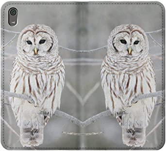Snowy Owl White Owl Case Cover For Sony Xperia L5