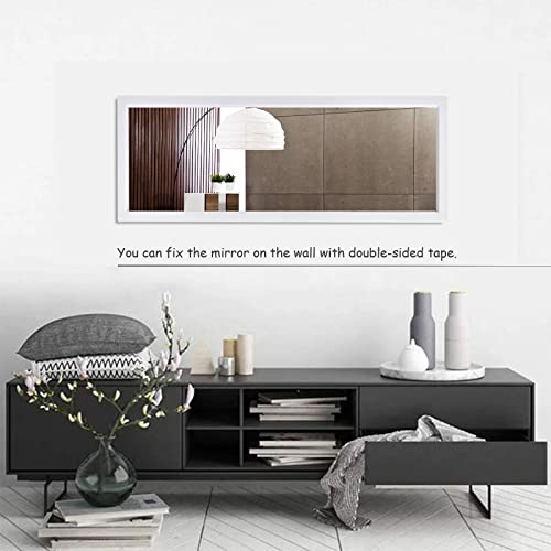 BEAUTYPEAK Door Mirror Full Length 16'' x 50'' Large Hanging Mirror Rectangle Wall Mounted Body Dressing Mirror