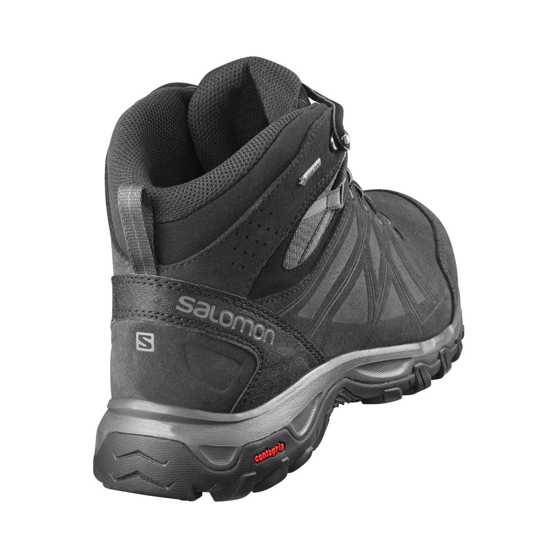 Salomon Herren Evasion 2 Mid LTR GTX Hiking und Multifunktionsschuhe, SynthetikTextil