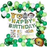 MMTX Selva Fiesta de cumpleaños Decoracion Niño-Feliz cumpleaños
