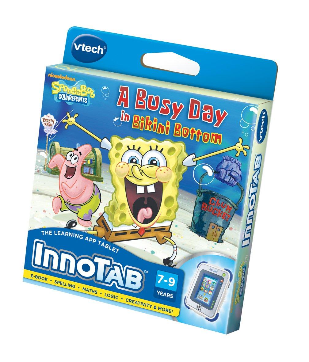 VTech InnoTab Software: SpongeBob SquarePants - A Busy Day in Bikini Bottom 230703