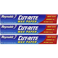 Reynolds Cut-Rite Wax Paper by 75 Sq.Ft - Pack Of 3