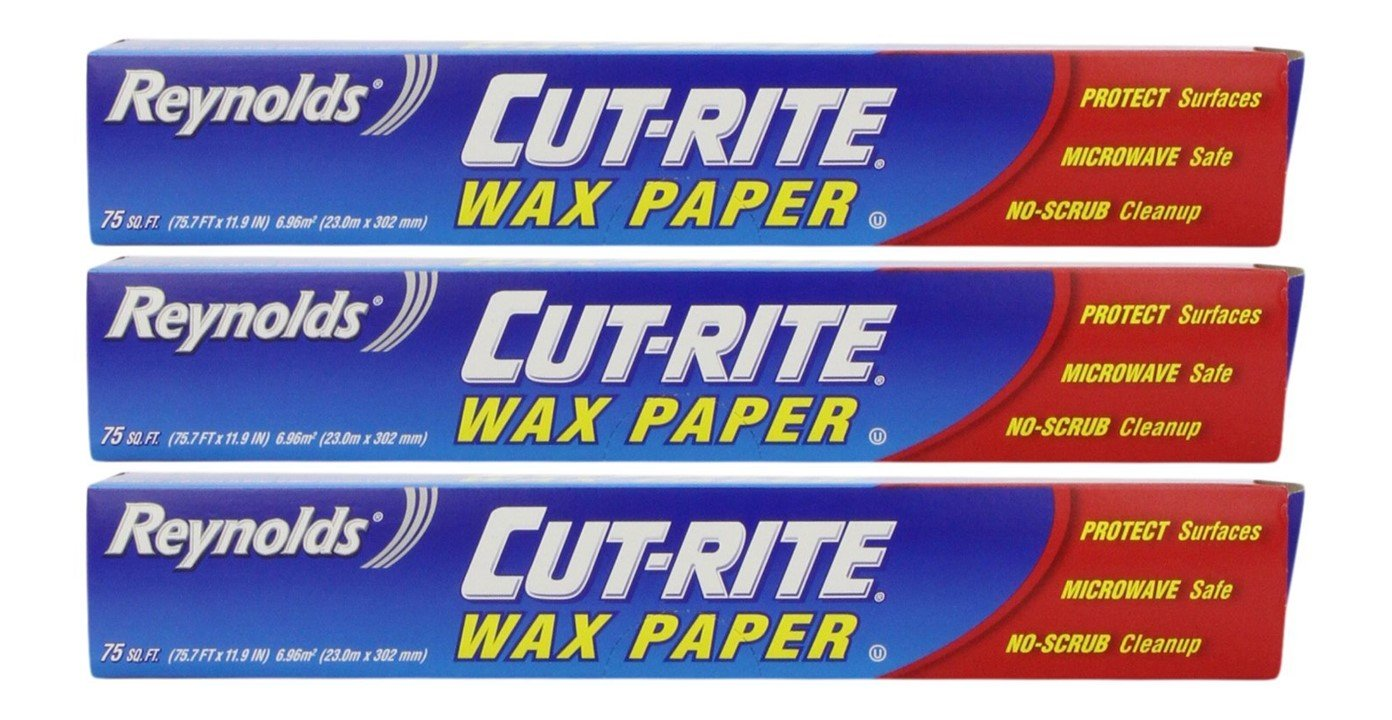 Cut-Rite Wax Paper by Reynolds 75 Sq.Ft - Pack of 3 Reynolds Wrap