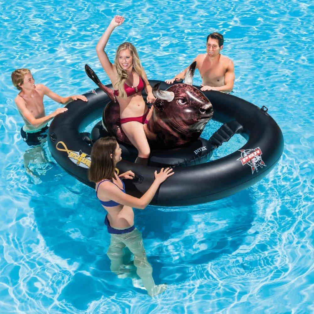 Divertido - Toro Toro - Jinete de baño anillo flotador (flotador ...