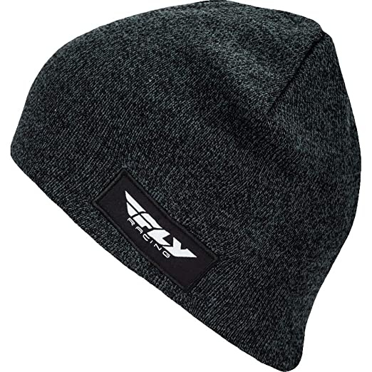 01ac951b56a Fly Racing Fitted Mens Knit Beanie - Black at Amazon Men s Clothing store