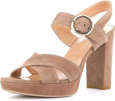 Nero Giardini Chaussures pour Femmes Sandales à Talons Hauts