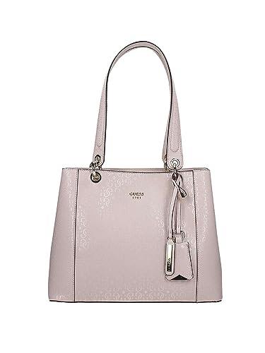 KAMRYN GLASSY-LOOK BAG, Sacs portés main femme, Nero 38a810c2db70