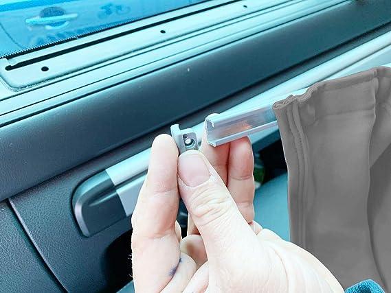 color gris extralargas para distancia entre ejes a partir de 2003 Cortinas para Mercedes Vito Viano W639 2014