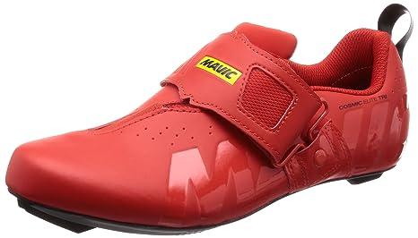 Mavic Cosmic Elite Tri - Zapatillas - Rojo Talla del Calzado UK 8 | EU 42