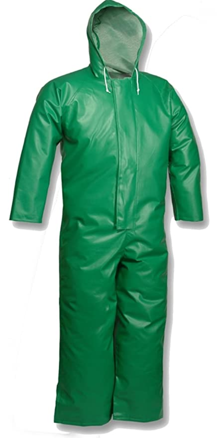 Tingley DuraScrim Self-Extinguishing PVC//Polyester Jacket Without Hood XL 4 Pack