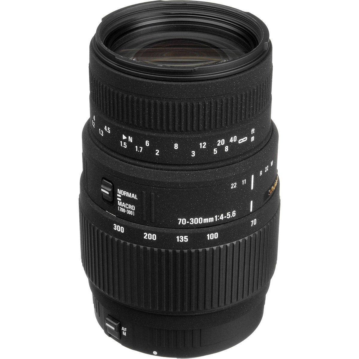 Sigma 70-300mm f/4-5.6 DG Motorized Macro Zoom Lens with Tripod + Filter + Strap + Kit for Nikon Digital SLR Cameras by Sigma (Image #2)