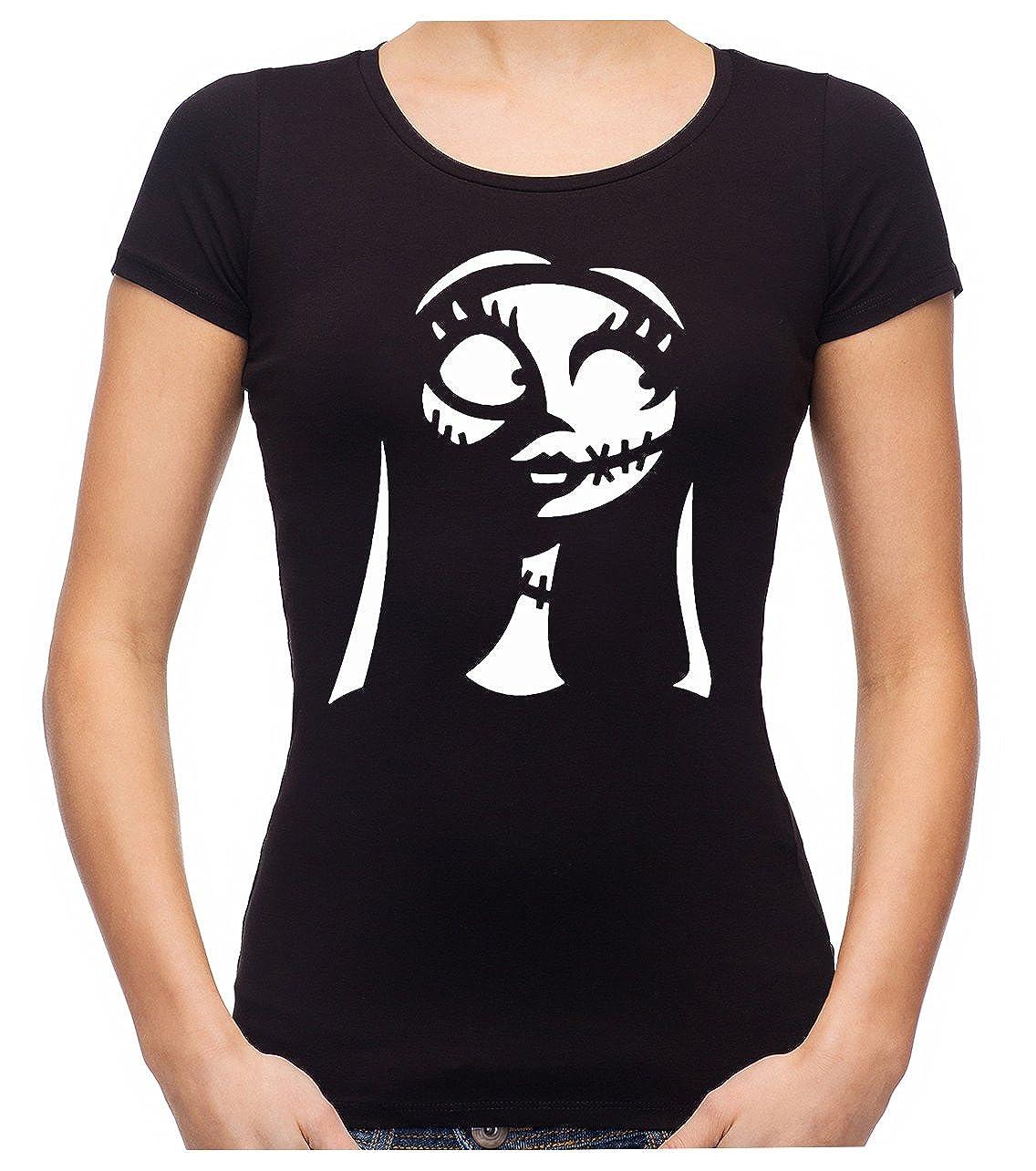 Sally Silhouette Nightmare Before Christmas Women\'s Babydoll Shirt ...