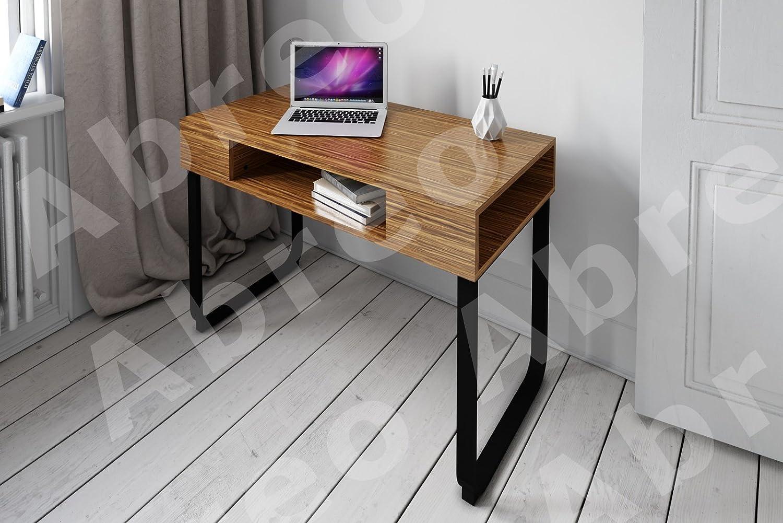 Escritorio de trabajo o mesa para ordenador con diseño retro, de ...