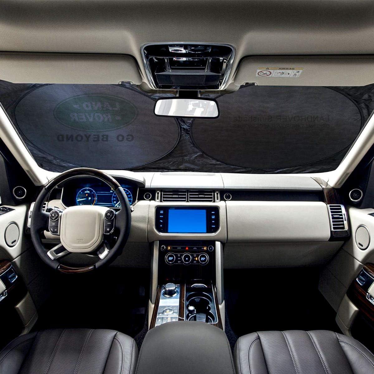 Sun Protection 62.9 x 33.4 Car Sunshade Windshield Visor Cover Car ...