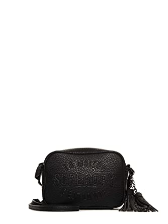 9cbdd3815 Superdry G91005YQF1 Across body bag Accessories Black S: Amazon.co ...