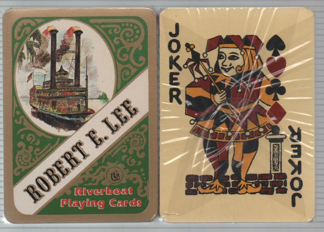 Amazon.com: Robert e Lee Riverboat Juego de cartas: Sports ...