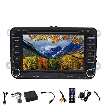 Vídeo foiioe Bluetooth coche reproductor de DVD GPS Navigator carlogo Video Player GPS Car Stereo Radio