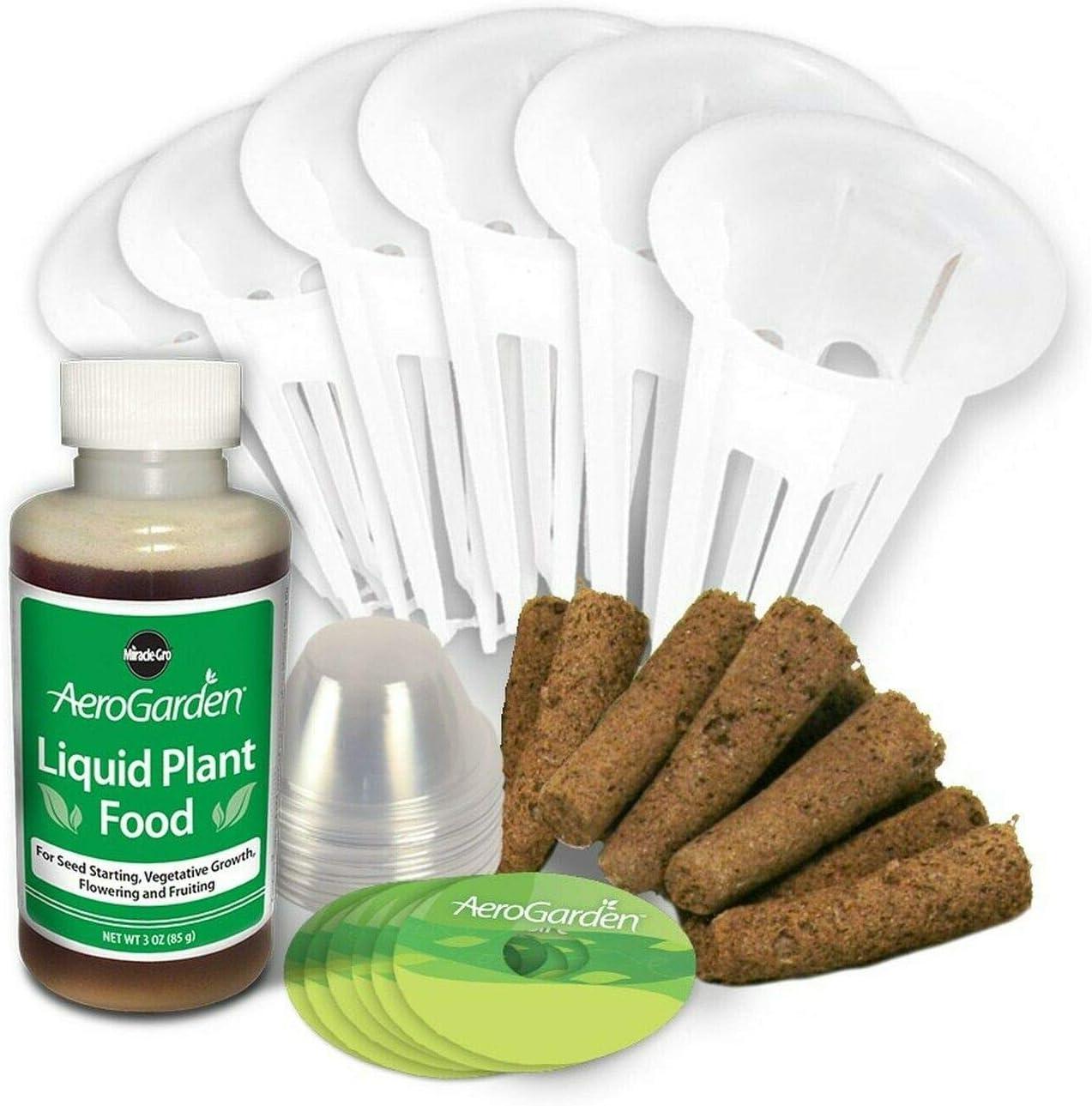 AeroGarden Grow Anything Seed Pod Kit (6-Pod) 6-Pod