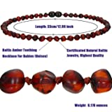 Baby Baltic Amber Teething Necklace Jewelry